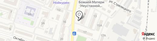 Дружба на карте Пионерского
