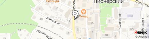 ОТЭКС-ТУР на карте Пионерского