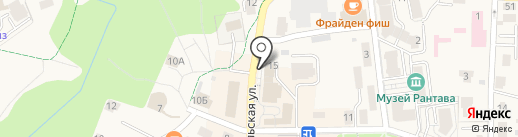 Почтовое отделение на карте Пионерского