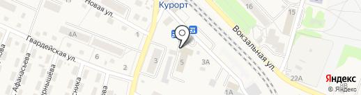 Строительно-монтажная компания на карте Пионерского