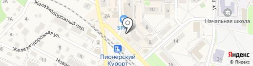 МТС на карте Пионерского