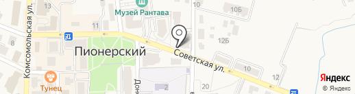 Наш Дом на карте Пионерского
