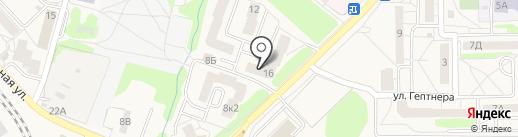 Магазин автозапчастей на ул. Шаманова на карте Пионерского