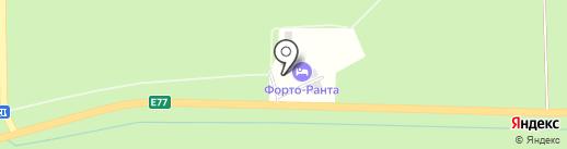 Выездной тир на карте Калининграда