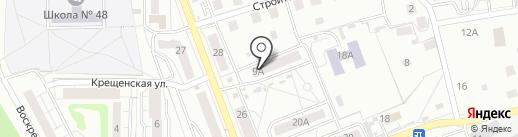 Виктория на карте Калининграда