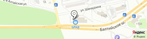 Формула Здоровья на карте Калининграда
