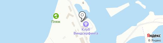 Глаз Ветра на карте Калининграда