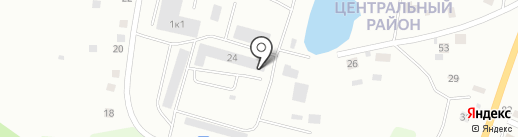 Майский на карте Калининграда