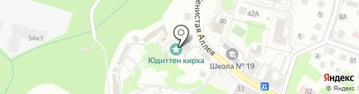 КРАСКИ на карте Калининграда