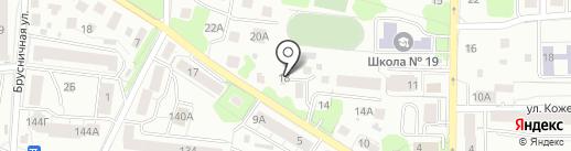Ардис на карте Калининграда