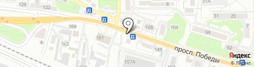 ВШаурме на карте Калининграда