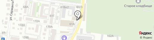 КД СтройСервис на карте Калининграда
