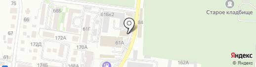 Кауф Маркет на карте Калининграда
