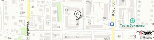 Для Тебя на карте Калининграда