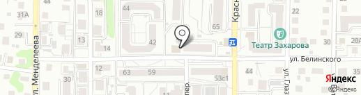 Родинка на карте Калининграда