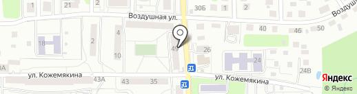 Дон ЭкономЪ на карте Калининграда