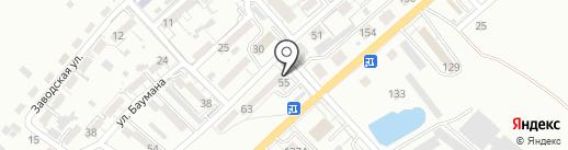 Разливной Биржалис на карте Калининграда