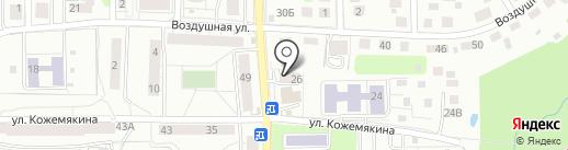 Toosim на карте Калининграда