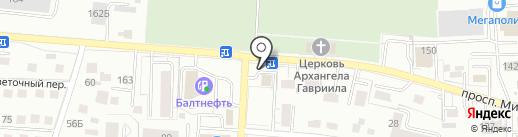 Салон штор на карте Калининграда