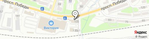 Ларусбалт на карте Калининграда