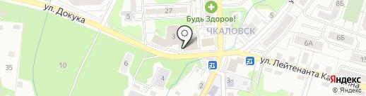 Эдвайс на карте Калининграда