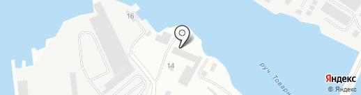 ВентФабрика на карте Калининграда