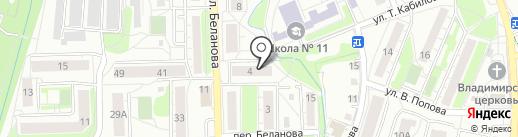 AmberOnly на карте Калининграда