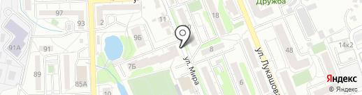 Мясной дворик на карте Калининграда