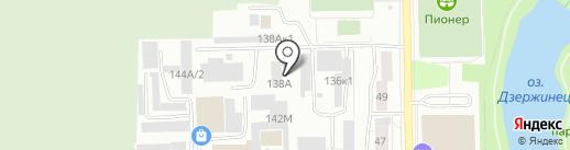 Сокол на карте Калининграда