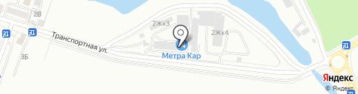 Барс на карте Калининграда