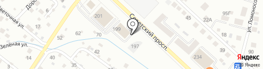ART TEXTILE на карте Калининграда