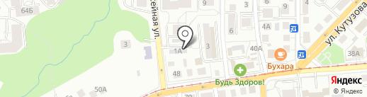 Сваи-Калининград на карте Калининграда
