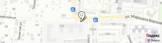 Строй Дом Калининград на карте Калининграда