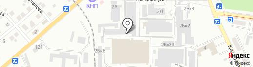 Пол-трейд на карте Калининграда