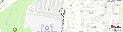 Мастерская по изготовлению памятников на карте Калининграда