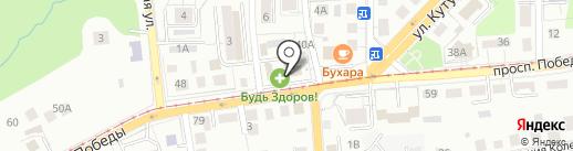 ЛЭАР на карте Калининграда