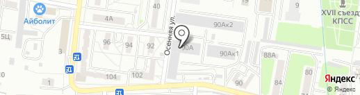 Автоцентр на карте Калининграда