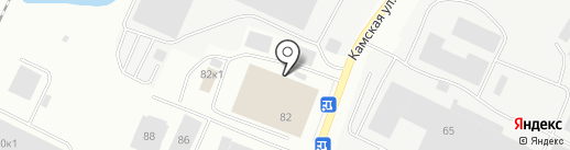 Балтия МАКМАРТ на карте Калининграда
