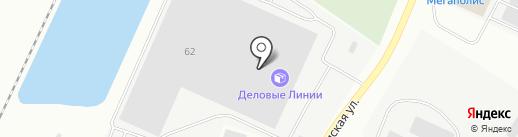 Объединенная Бумажная Компания на карте Калининграда