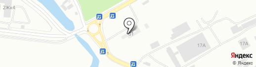 Рус-Авто на карте Калининграда