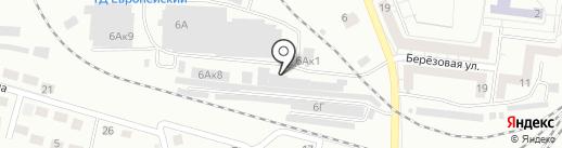Бутыль на карте Калининграда