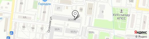 Балт Транс Комфорт на карте Калининграда