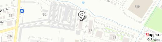 ИНВЕСТСТРОЙ на карте Калининграда