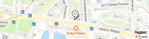 Front Row Discount на карте Калининграда