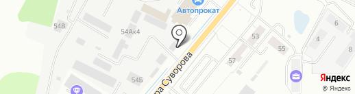 ЭкоДом на карте Калининграда