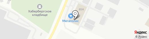 Брусничка на карте Калининграда