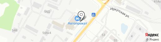 Архиидея на карте Калининграда