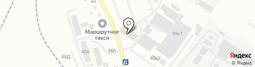 КРЕМНИЙ 39 на карте Калининграда