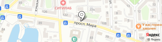 DULUX на карте Калининграда