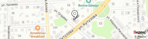 ТайРай на карте Калининграда